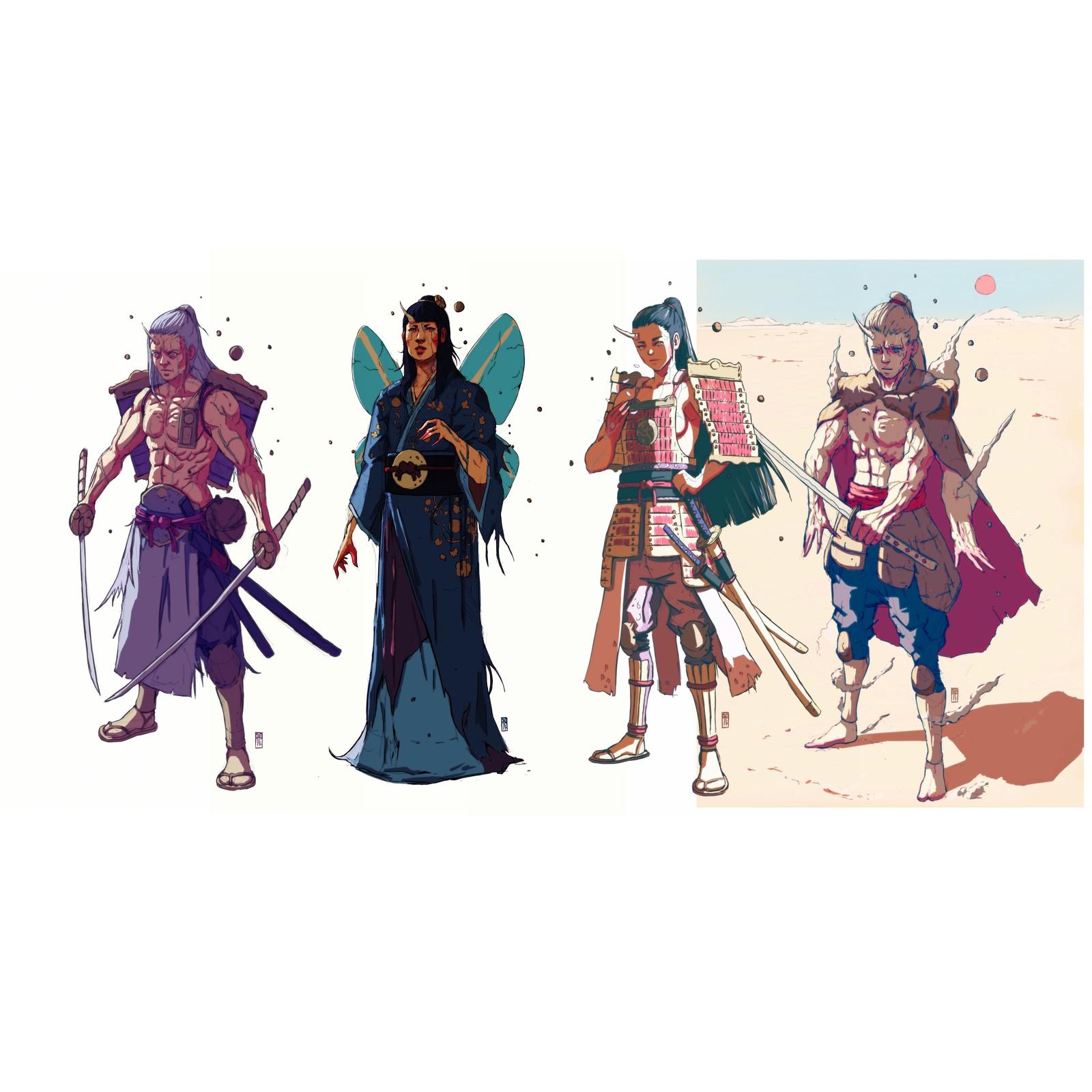 Kami's lineage