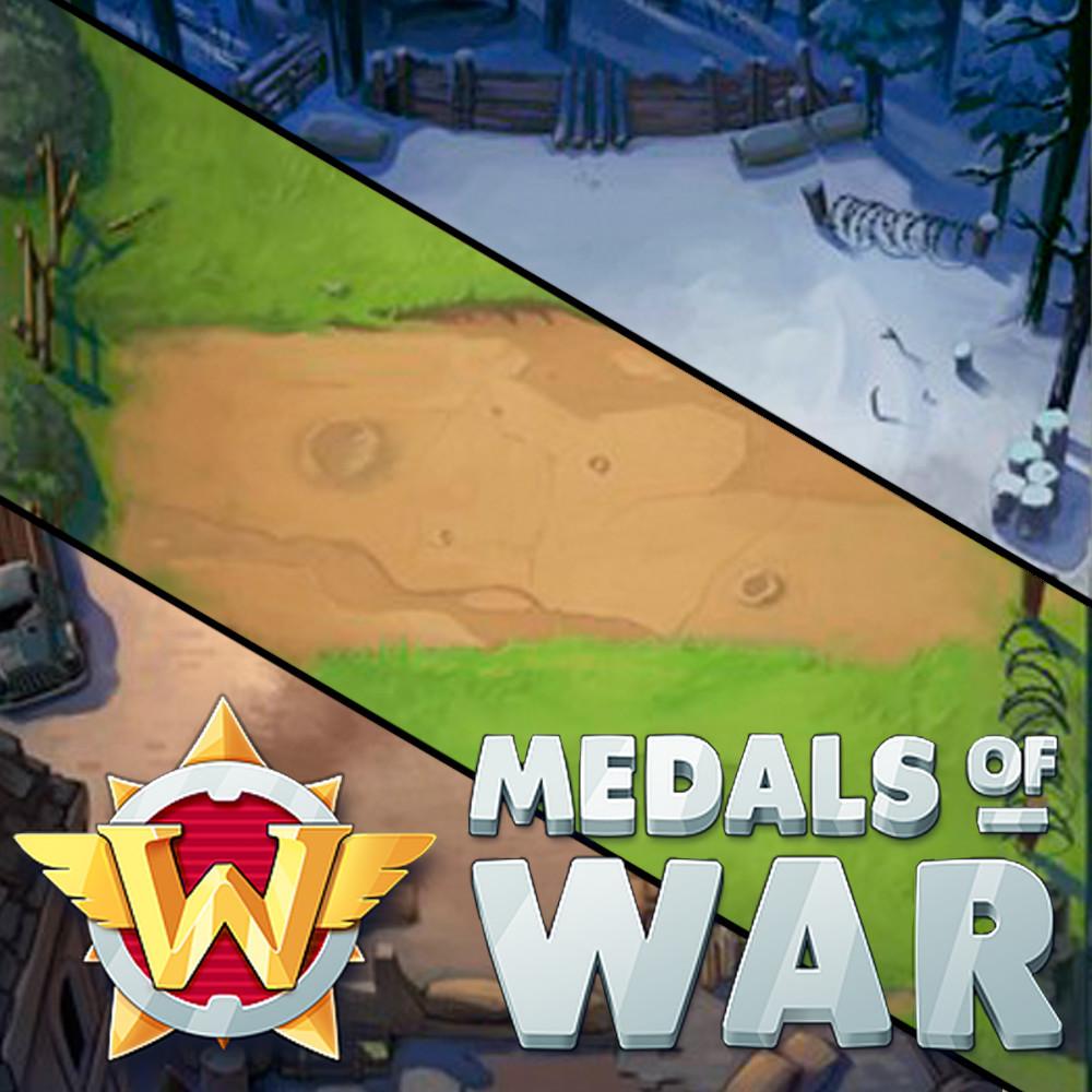 Medals of War: Locations