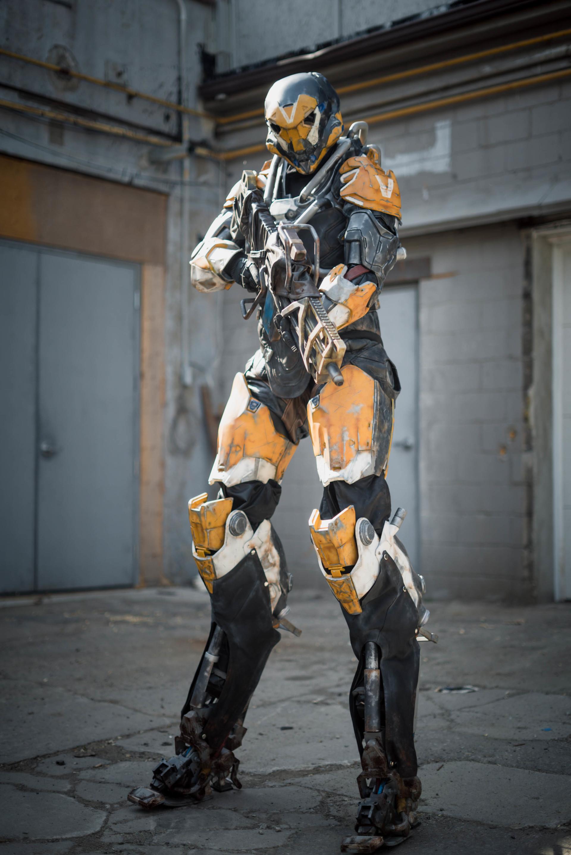 Artstation Ranger Javelin Exosuit Anthem Bioware Ea Jordan