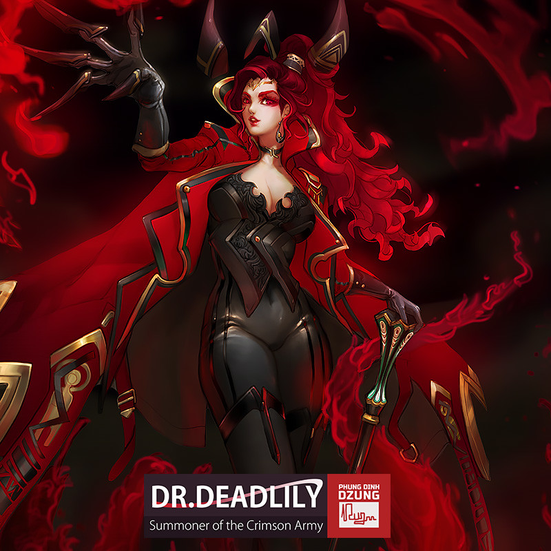 DrDeadLily - Final Color Concept