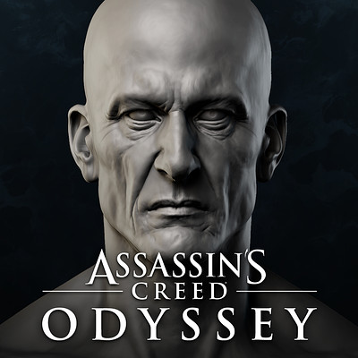 Assassin's Creed Odyssey, Legacy of the 1st Blade : Darius' Head Sculpt