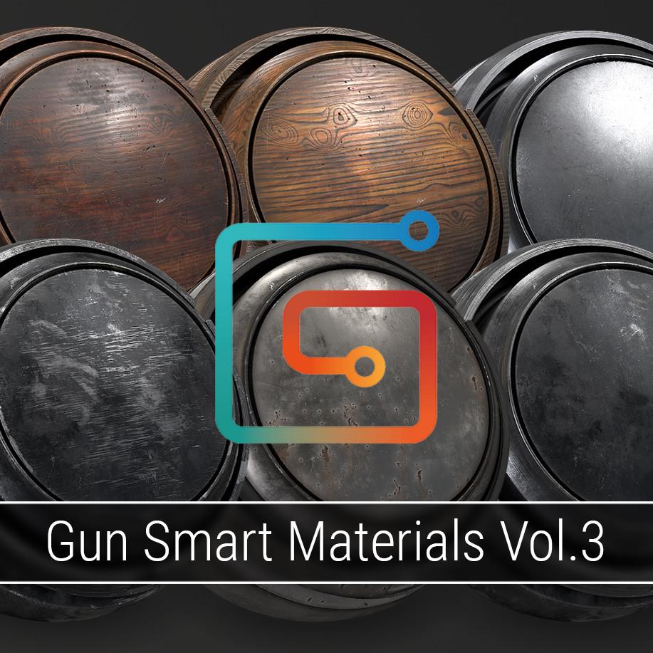 Gun Smart Materials Pack Vol.3