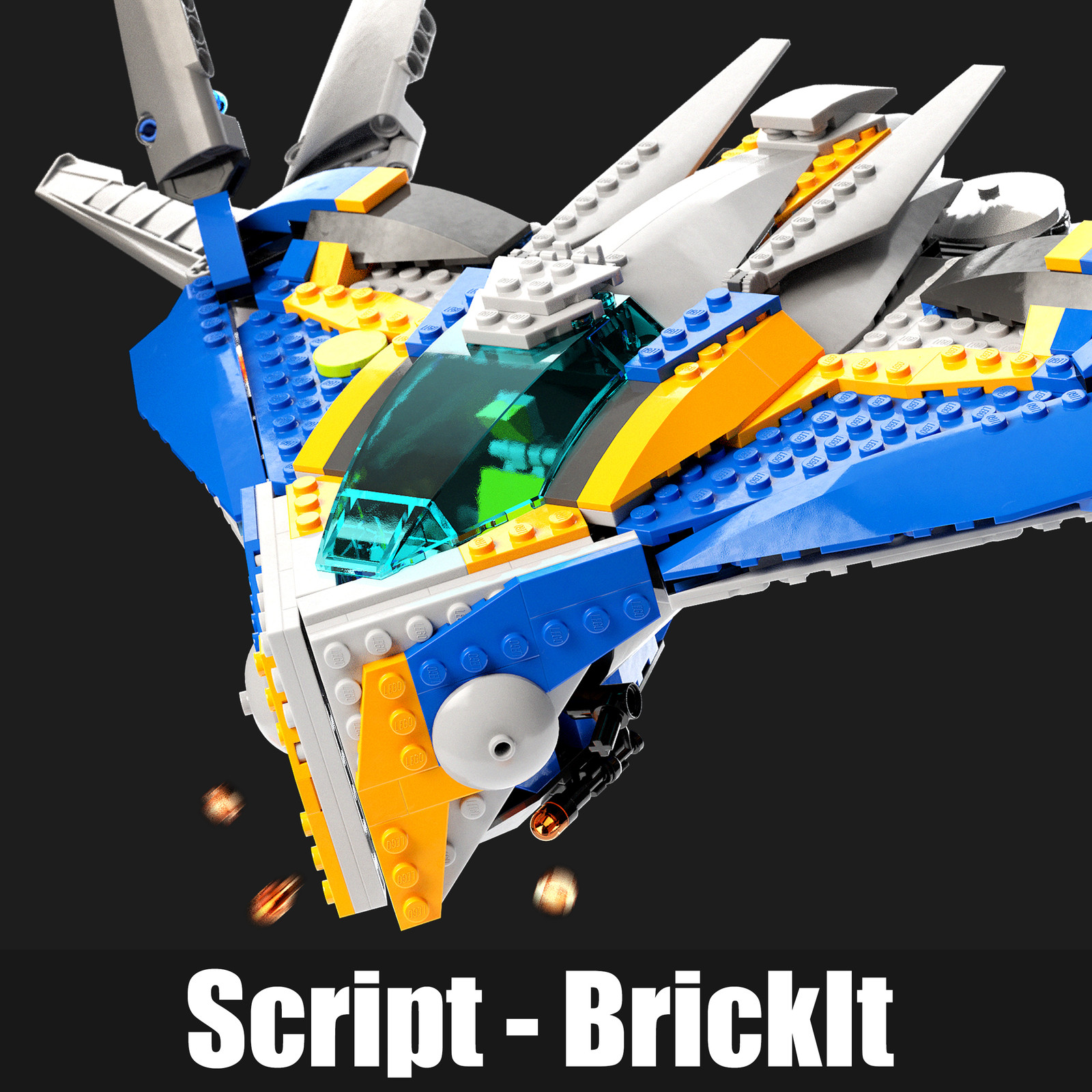BrickIt - Lego Creation Script for Maya