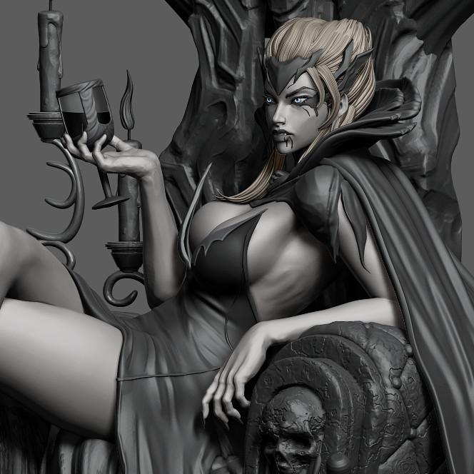 WIP:3....Vampire Queen