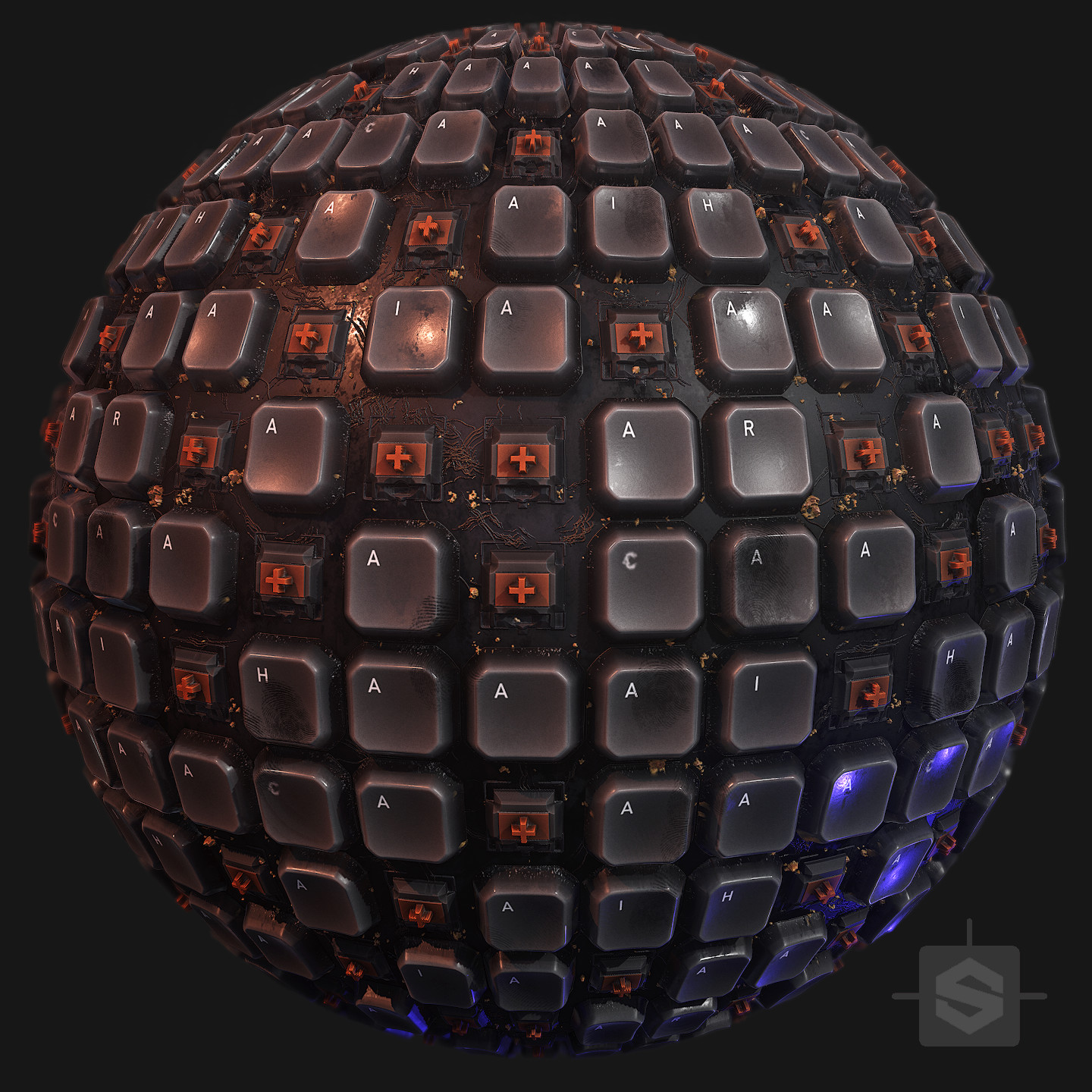 Keyboard Keys - Substance Designer