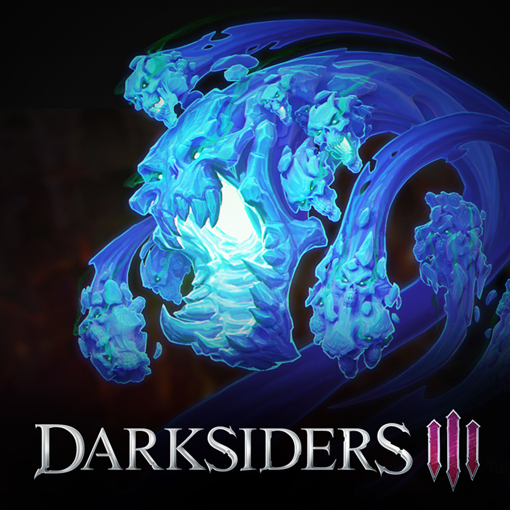 ArtStation - Darksiders 3 - Lurcher Demons concepts  Too