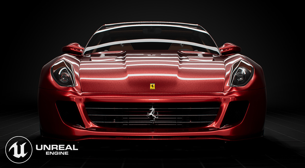 Ferrari 599 - Dynamic Realtime lighting