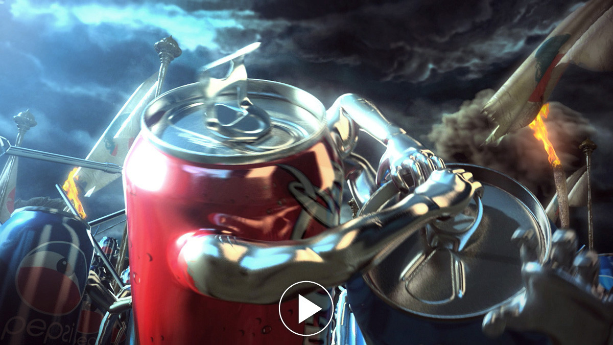 Coca cola Vs Pepsi spec commercial