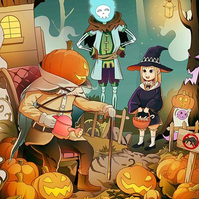 Misoba hoang nguyen weird world halloween