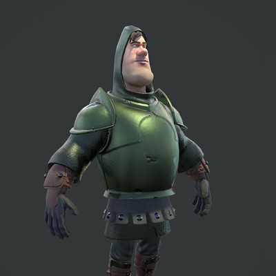 Sir Loin of Beef - PBR Game Character