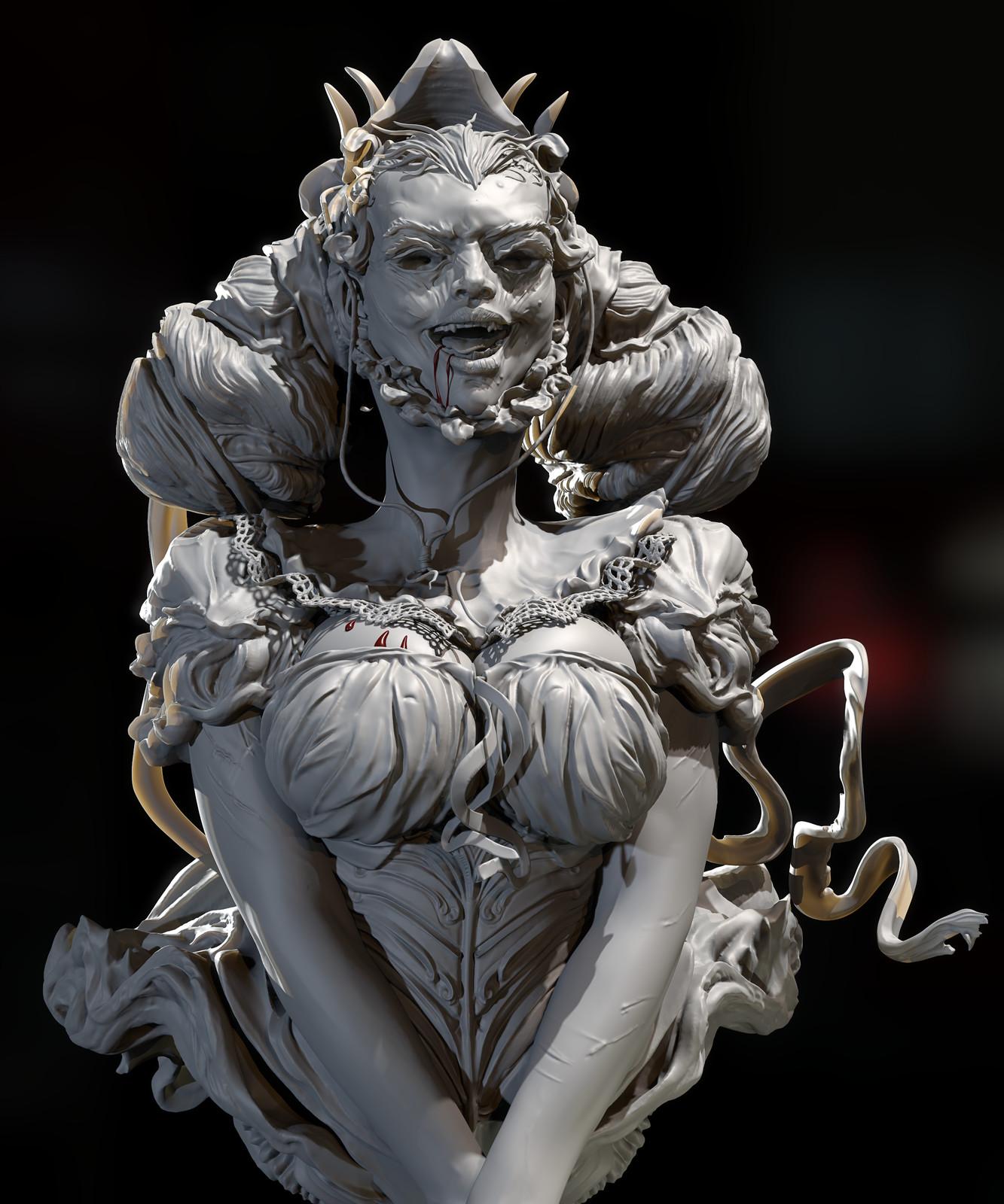 Vampire Girl_Draculas Vlad the Impaler Slave