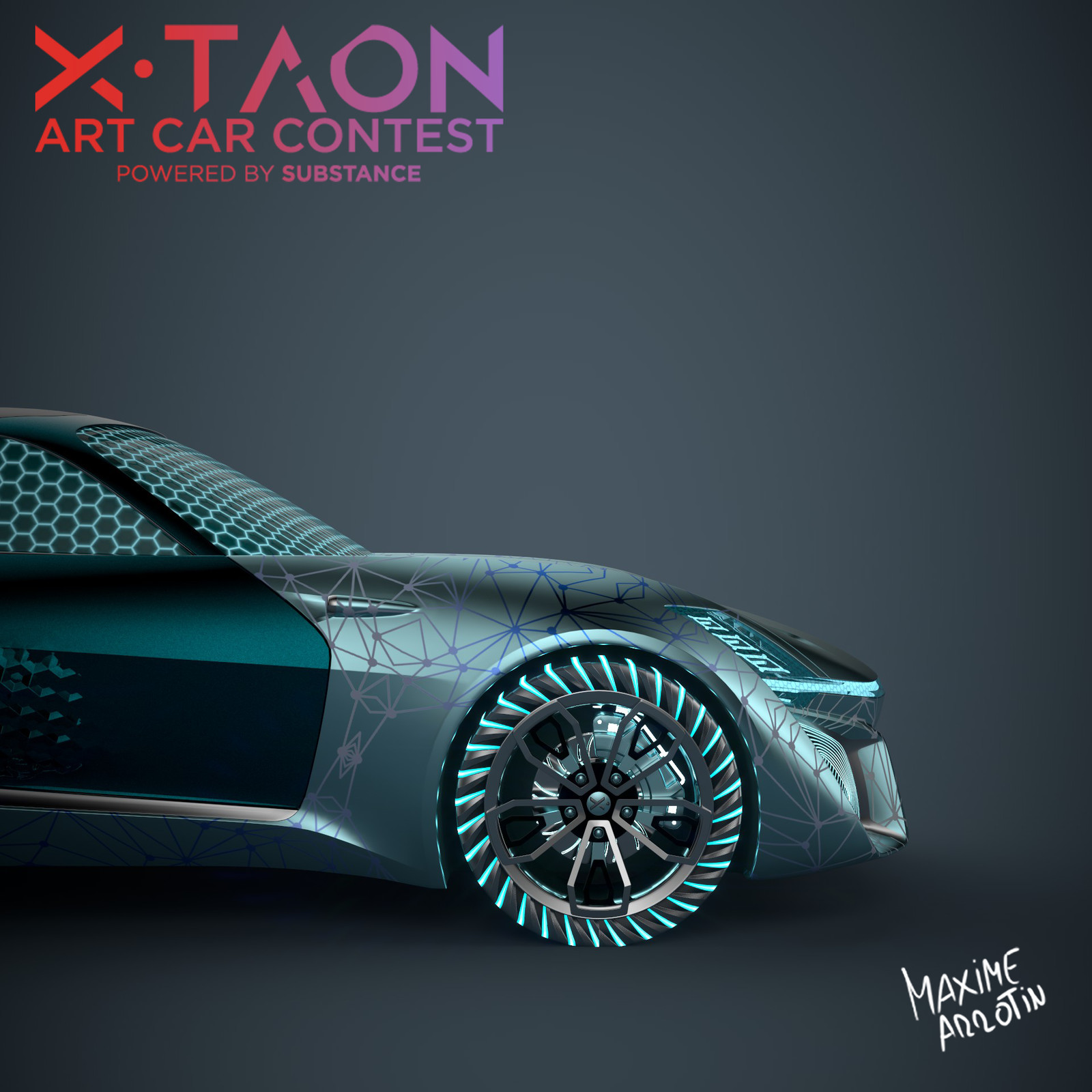 X-TAON: Allegorithmic  Car Texturing Contest