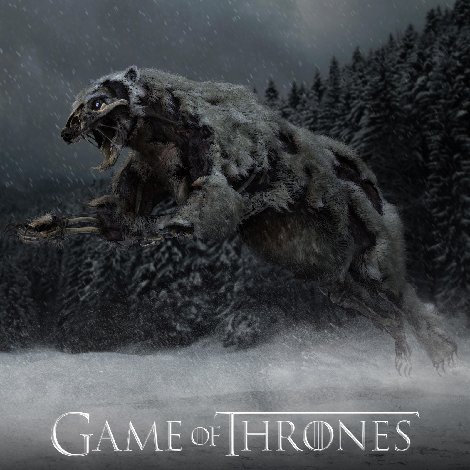 Game of Thrones - Season 7 - Polar Bear Wight