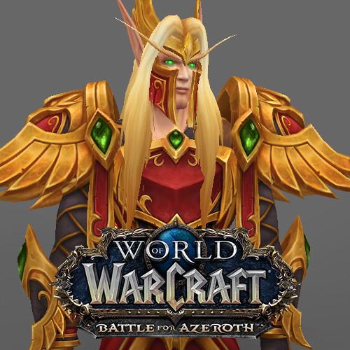 Natacha Nielsen - World of Warcraft - Blood Elf Heritage Armor