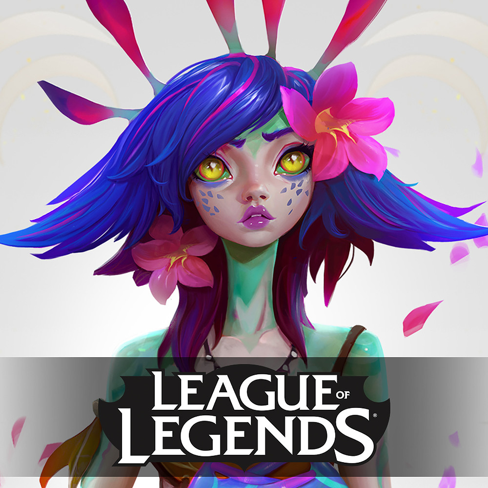 Neeko the Curious Chameleon - Concept Art- League of Legends