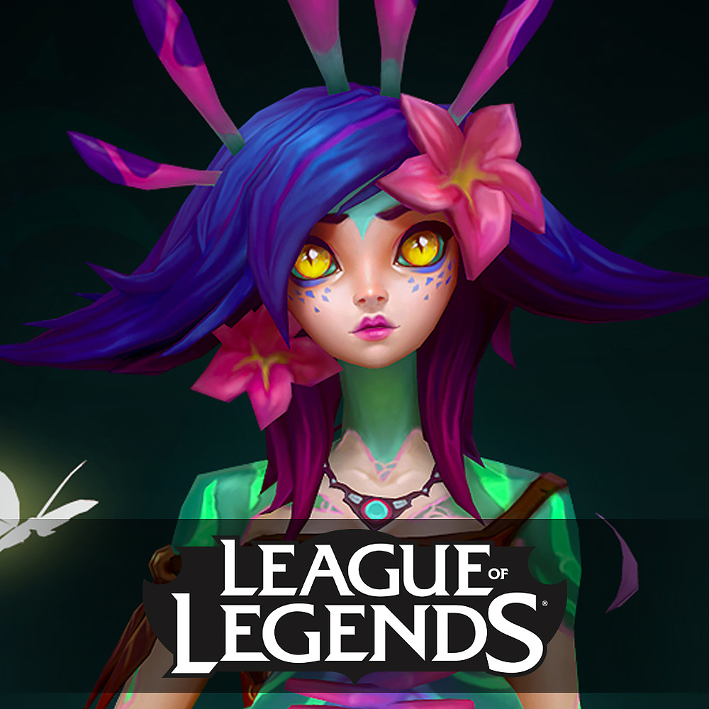 Neeko the Curious Chameleon - Ingame model - League of Legends