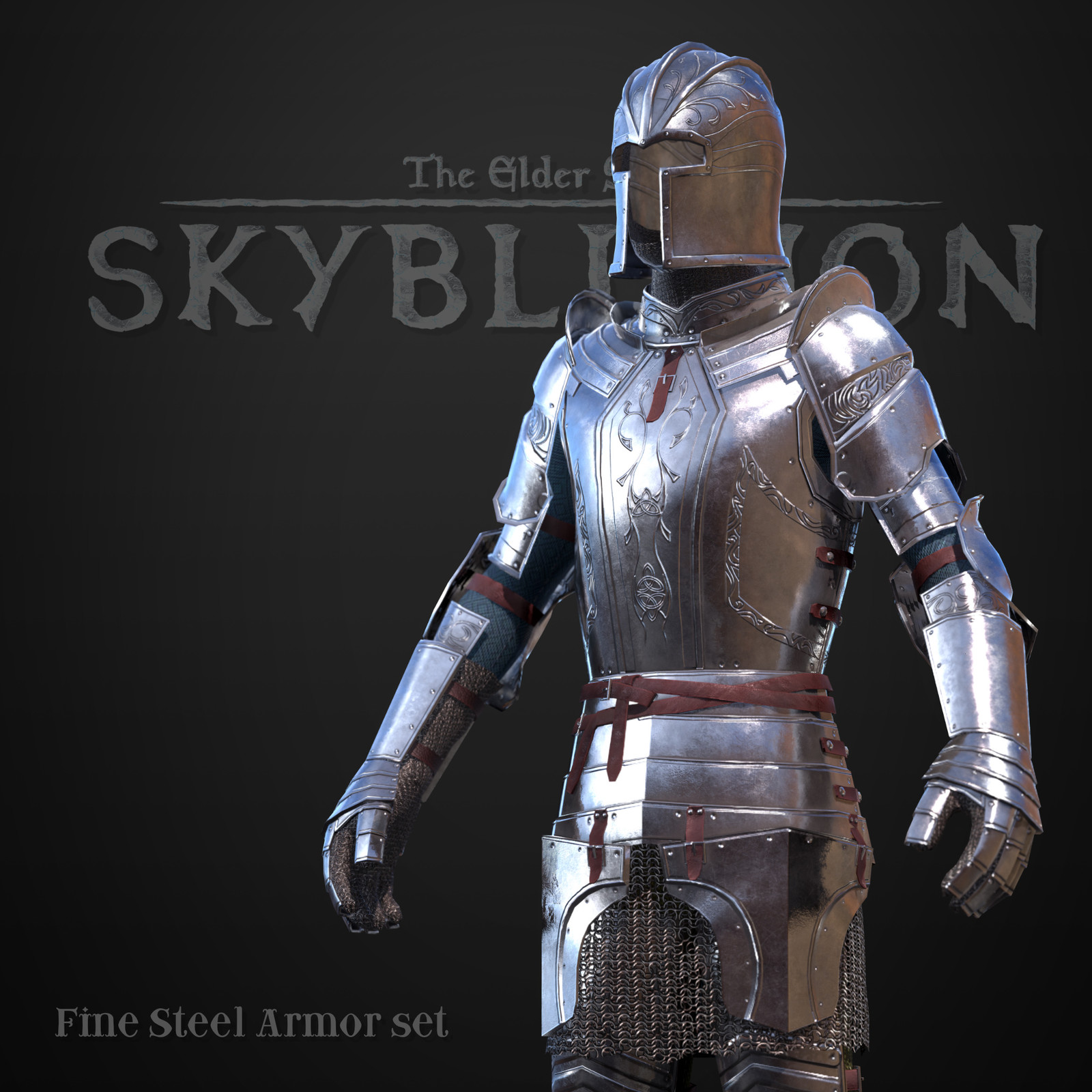 Fine Steel armor set