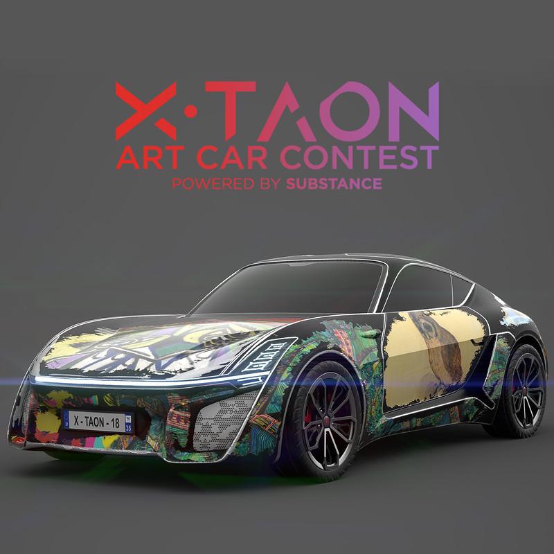 X-TAON - 'Scratch UP' - a Journey through Art & Time