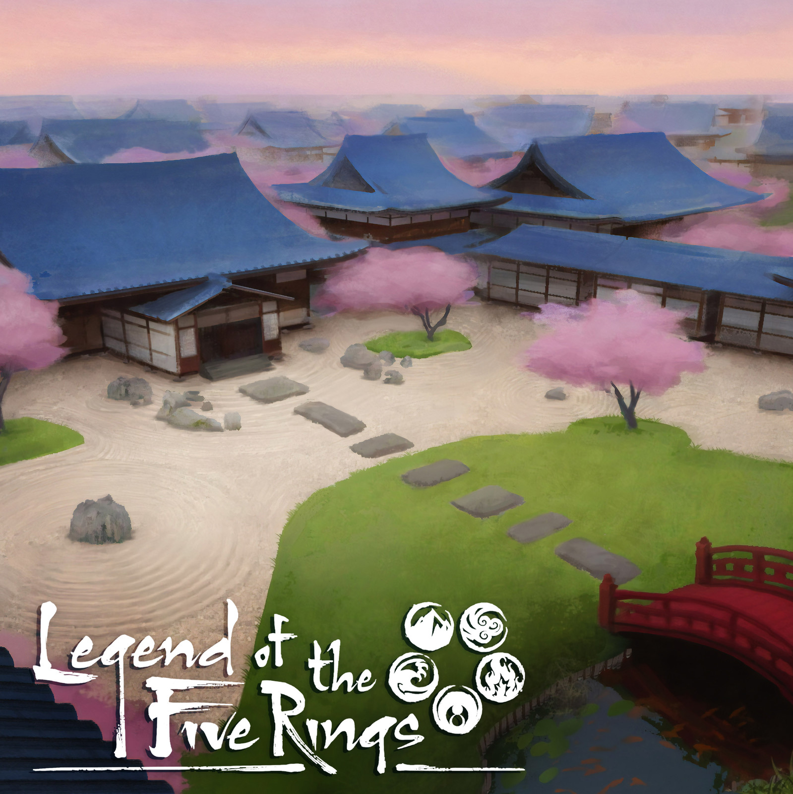 Legend of the Five Rings - Core Rulebook illustrations