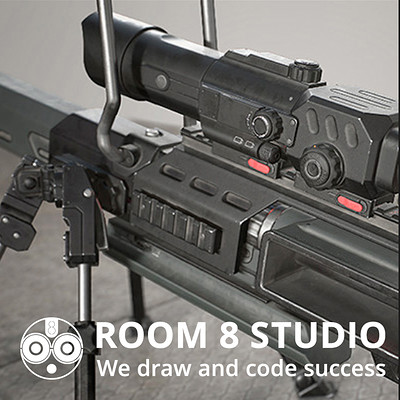 Room 8 studio photoreal vehicles weapons gun