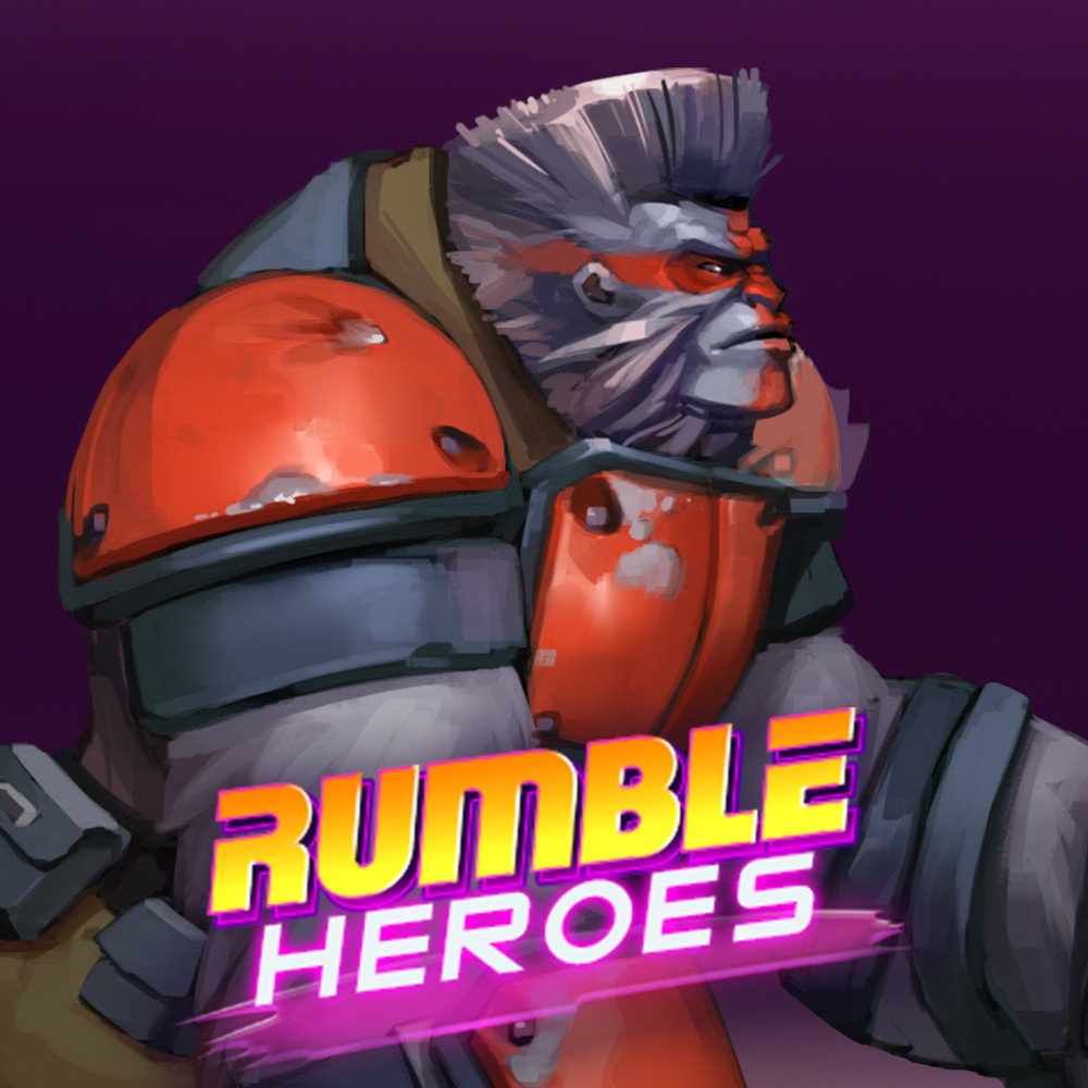 Rumble Heroes: Concept Art of Protector