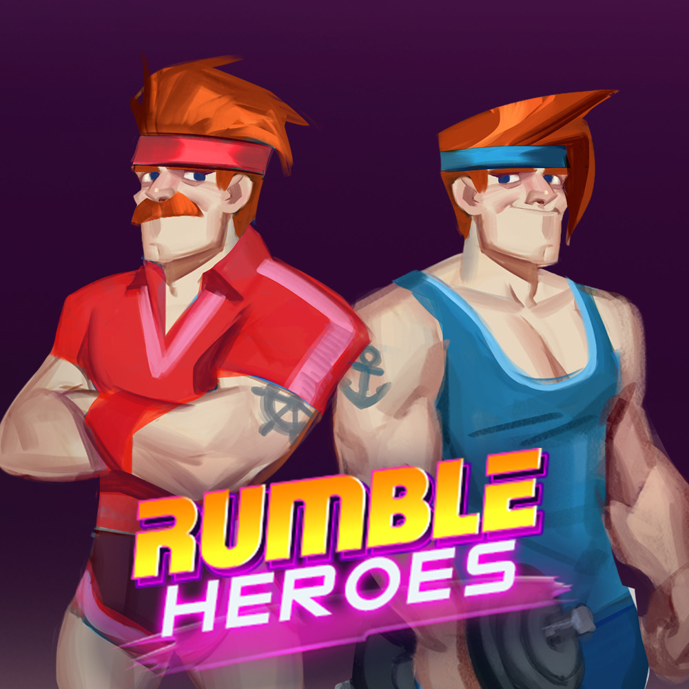 Rumble Heroes: Concept Art of Twins