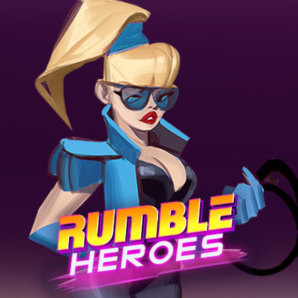 Rumble Heroes: Concept Art of Zoe