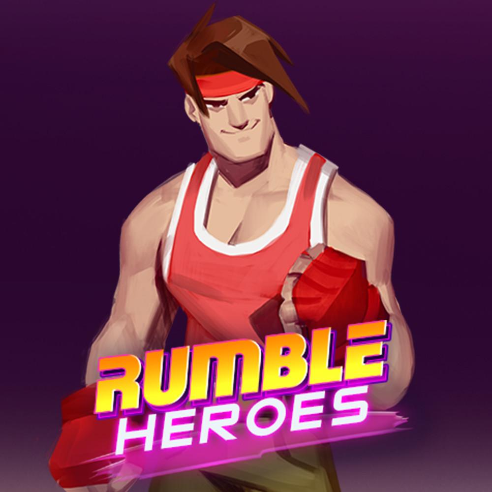 Rumble Heroes: Concept Art of Hiro
