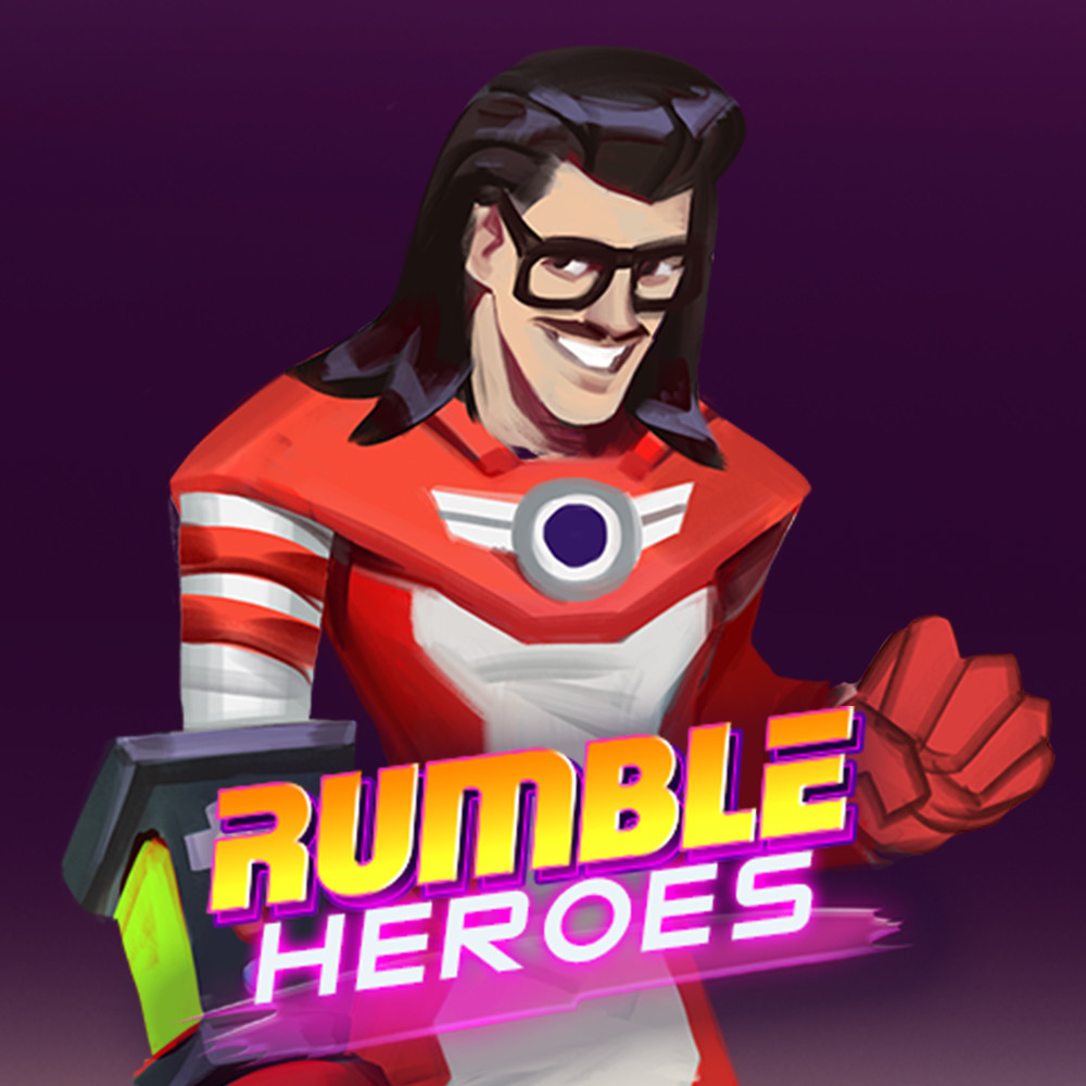 Rumble Heroes: Concept Art of Marty Stu