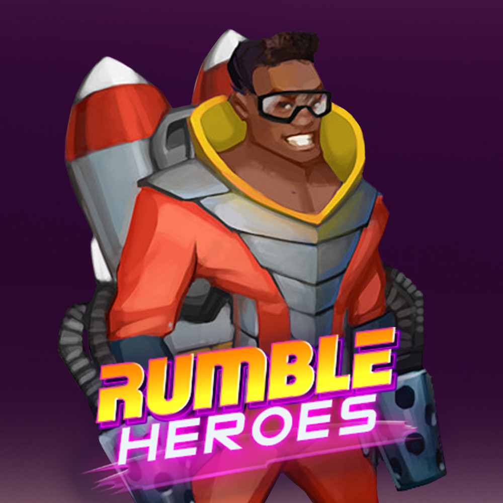 Rumble Heroes: Concept Art of James