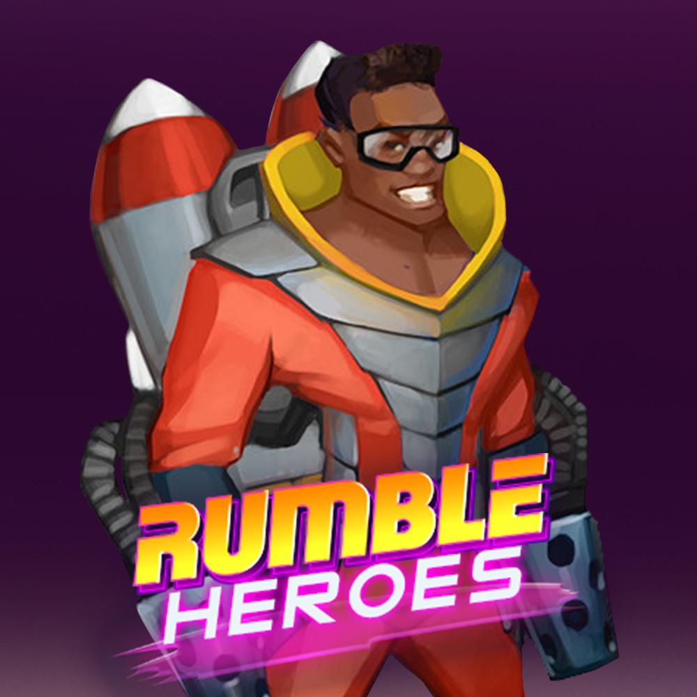 Rumble Heroes: Concept Art of James