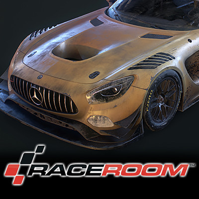 Room 8 studio amg gt3 yellow