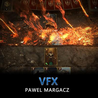 Gwent / Thronebreaker VFX Pawel Margacz reel