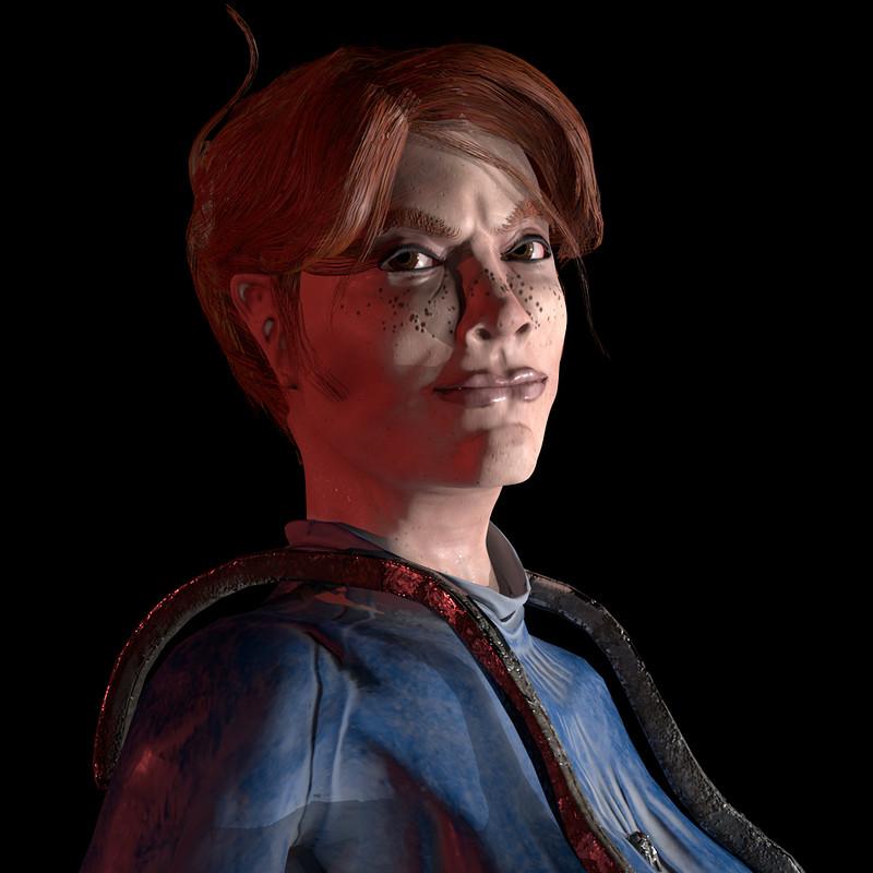 """Barbara V2 """"RFP"""" Game Character 2018"""