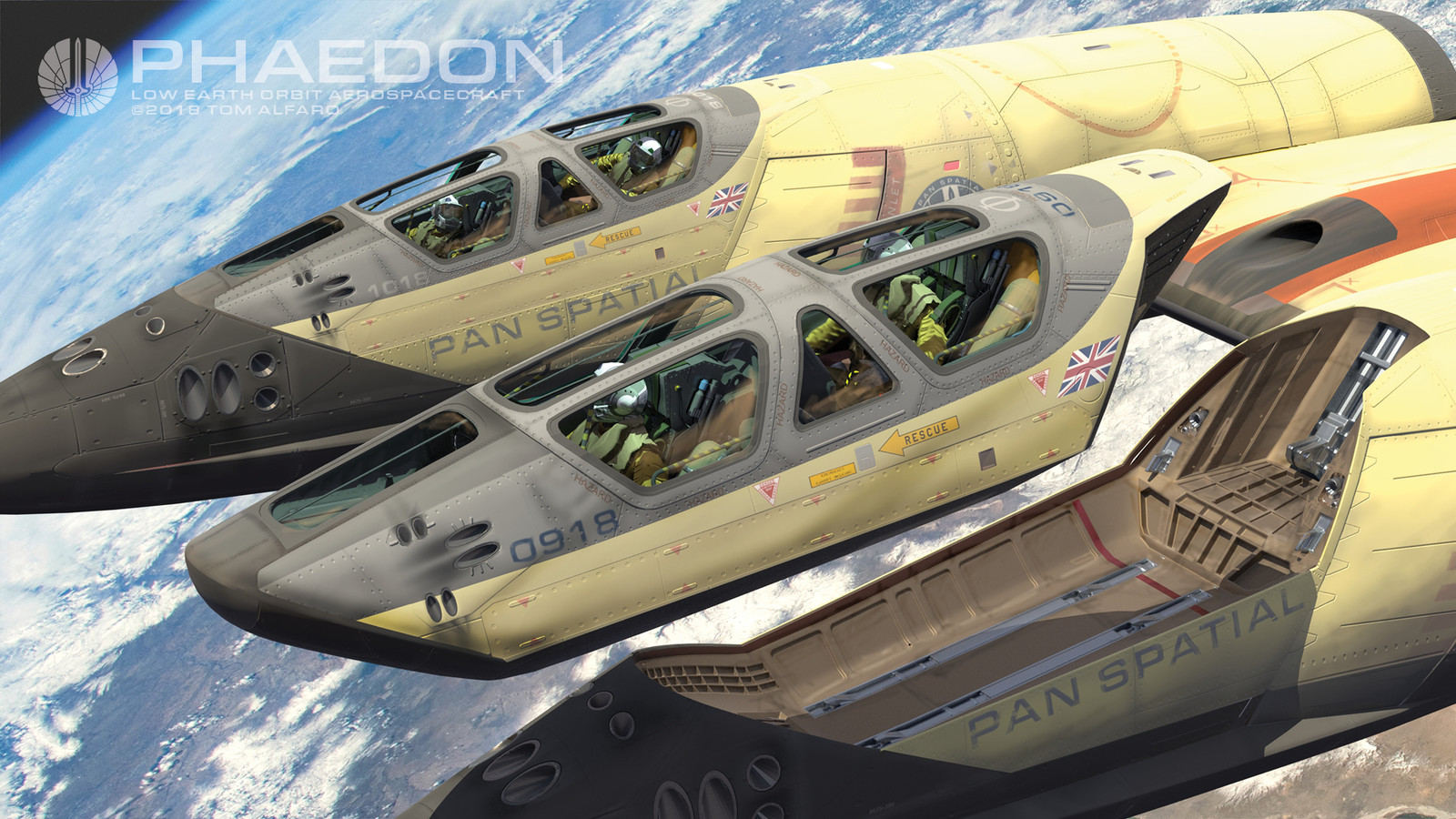 Phaedon Aerospacecraft
