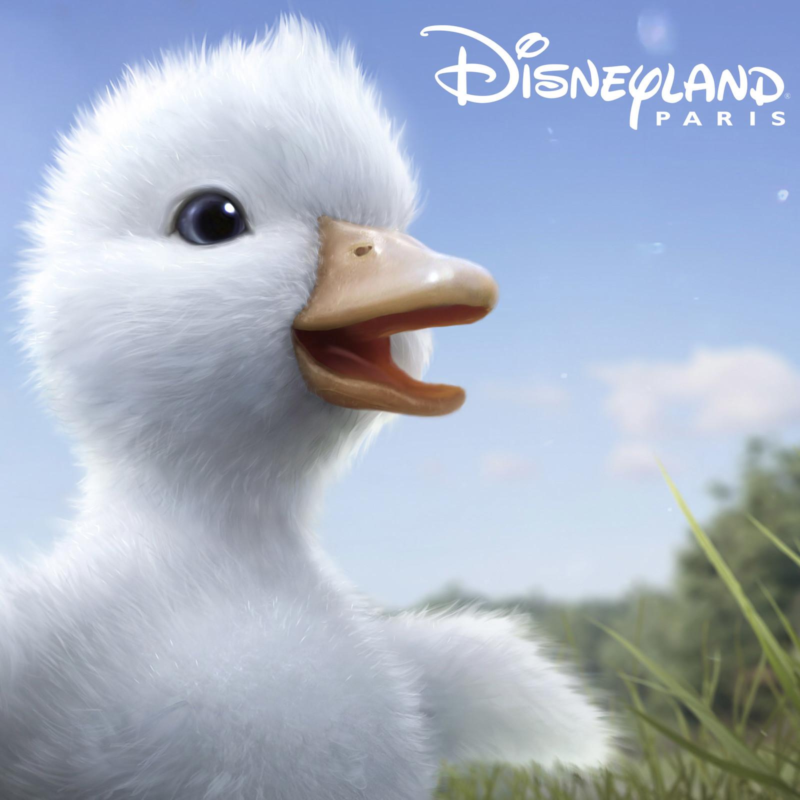 Disneyland - the little Duck - concept art