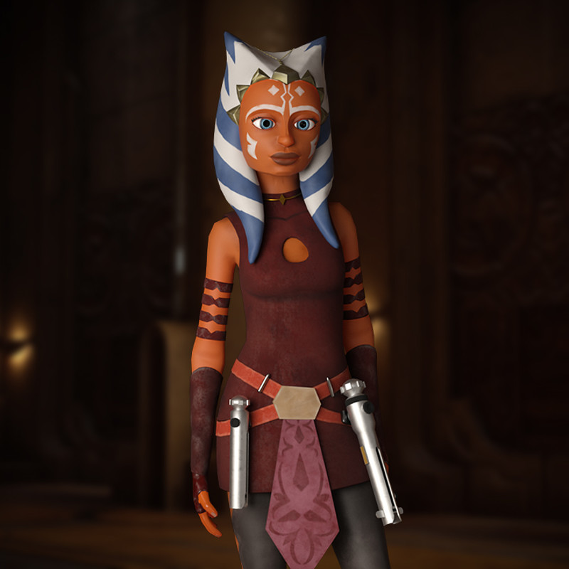 Ahsoka Tano Clone Wars Fan art