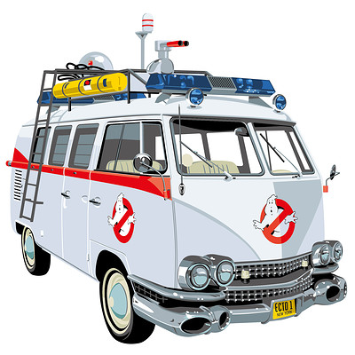 Paul adams vw camper ghostbusters aw