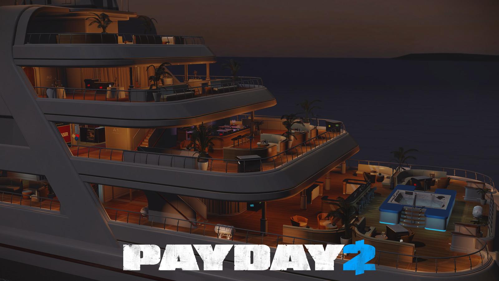 Payday 2: Yacht DLC