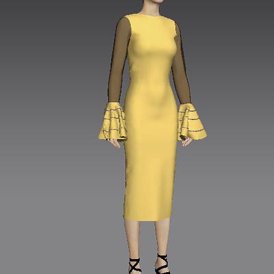 Victoria jimoh nana dress