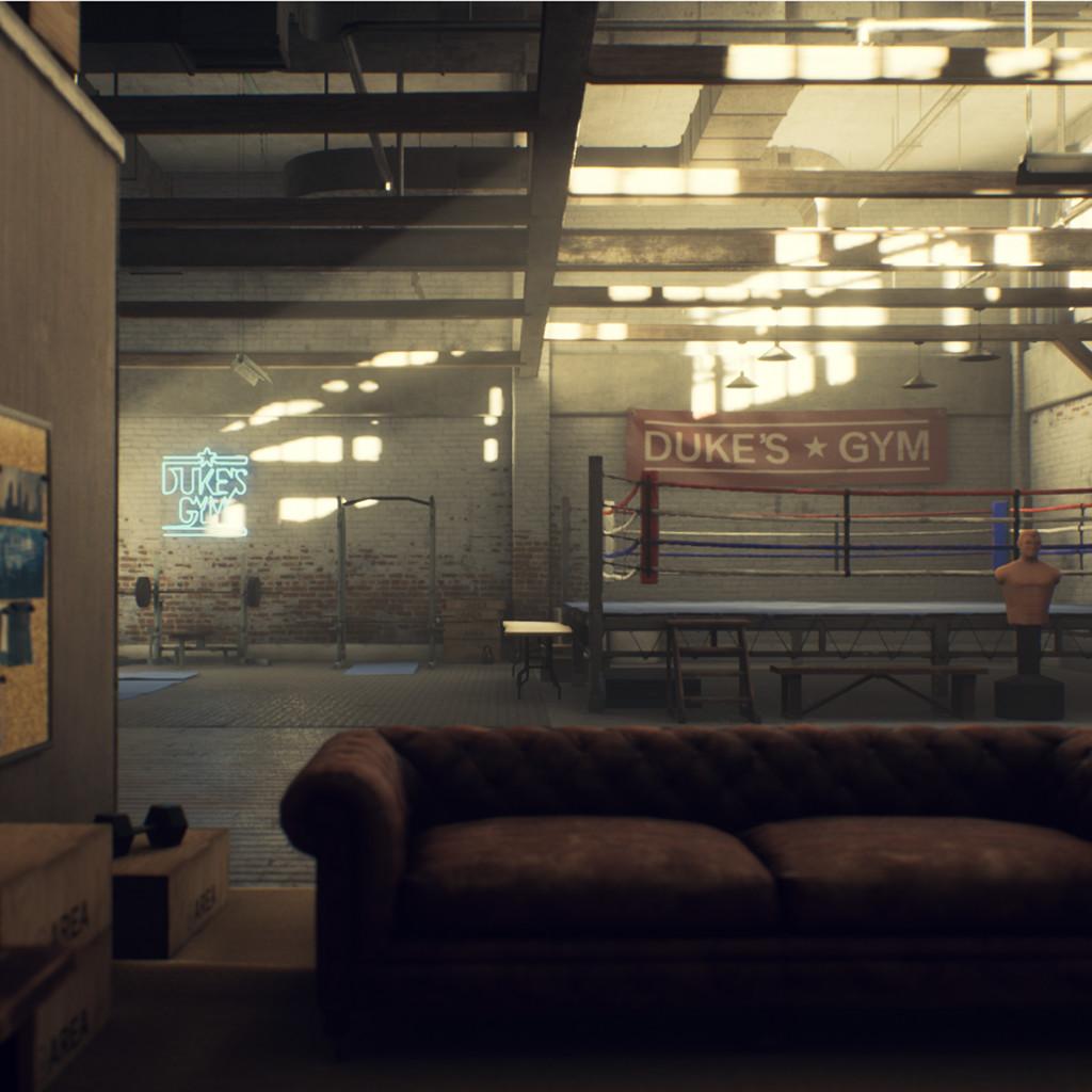 Boxing Gym Lighting Study #3