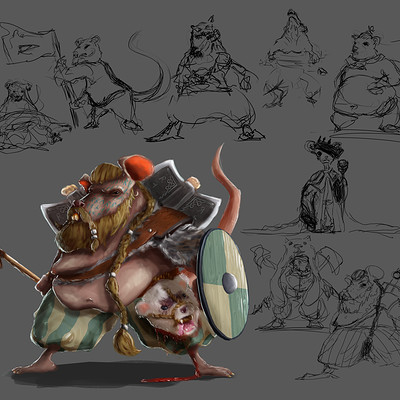 Liam foley rat warrior ideas
