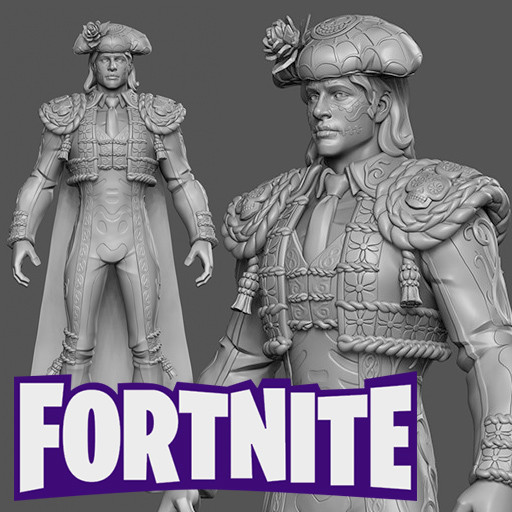 Artstation fortnite dante sculpt hector moran hec - Fortnite dante ...