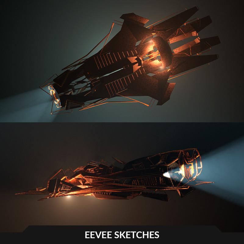EEVEE sketches
