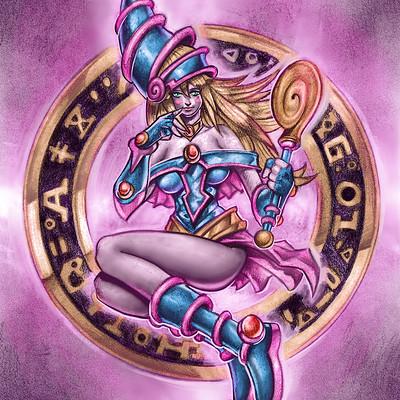 Julian r tusso dark magician girl copia 2