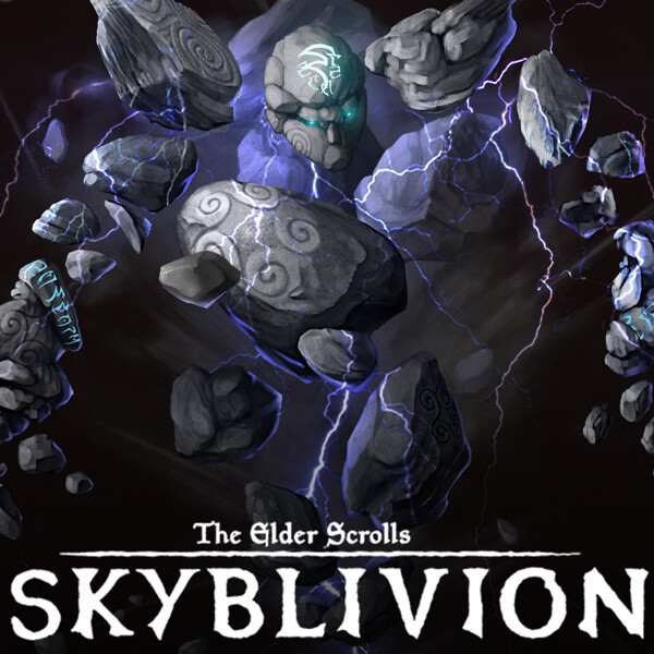 Skyblivion - Storm Atronach