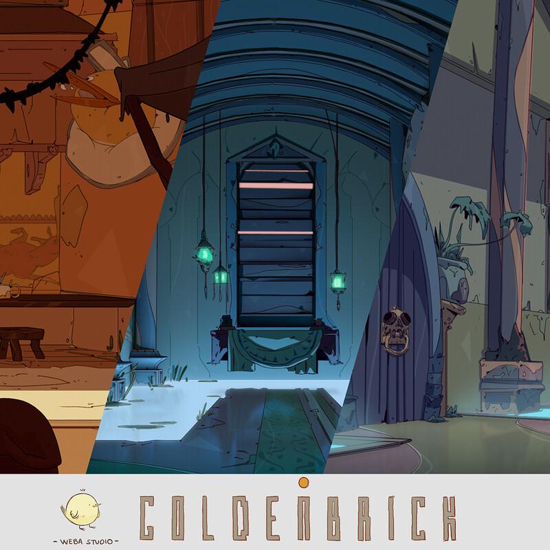 'Goldenbrick' videogame