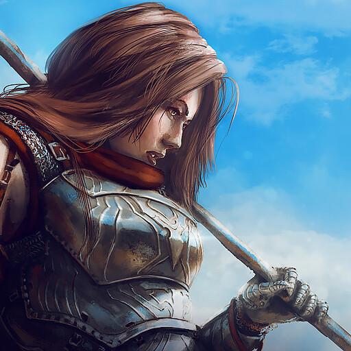 Lady Knight-K