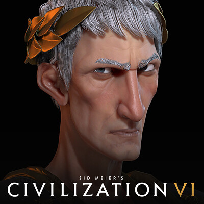 Civilization VI: Trajan of Rome