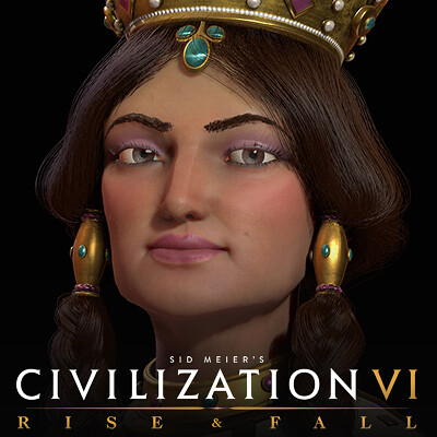 Civilization VI Rise & Fall: Tamar of Georgia